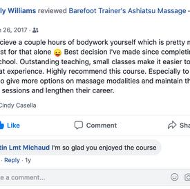 Emily Williams-barefoot trainers ashiats