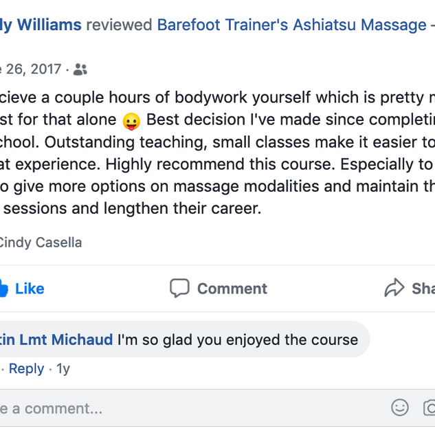 Emily Williams-barefoot trainers ashiats