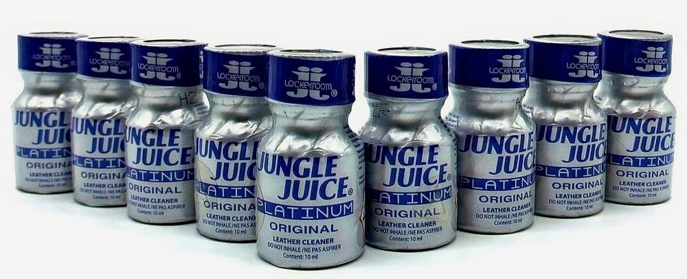 Воплотите свои тайные желания в реальность с попперс Jungle Juice Platinum 10 мл. (Канада)
