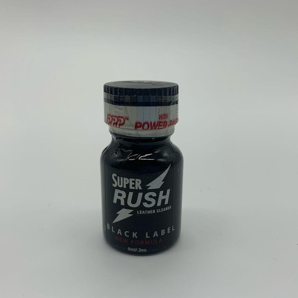 Super Rush Black label PWD — отличный возбудитель, но также имеет некоторые минусы.
