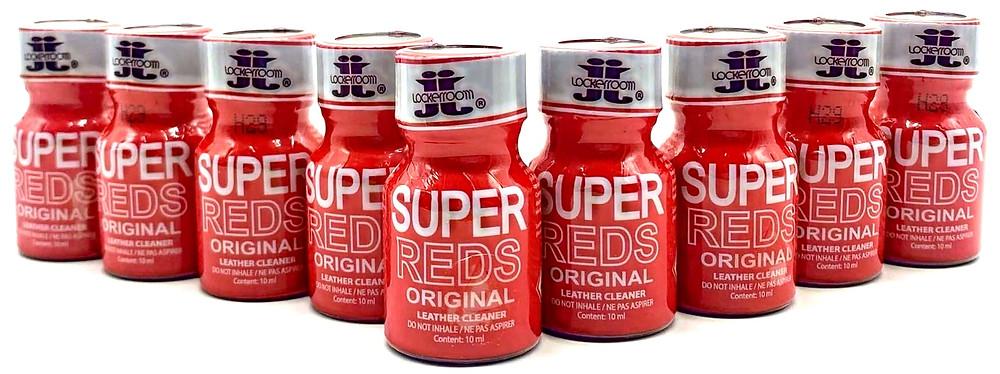 Купить попперс SUPER REDS 10 ml (Канада) в Москве с доставкой по России и по лучшим ценам