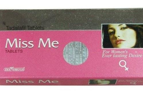 Капсулы для усиления сексуального желания у женщин «Сиалис Miss Me»