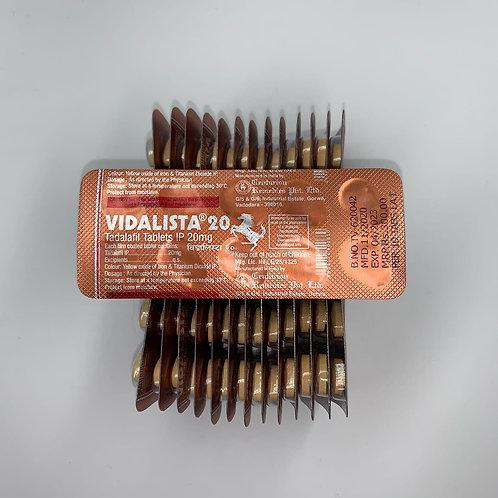 Дженерик Vidalista 20 mg
