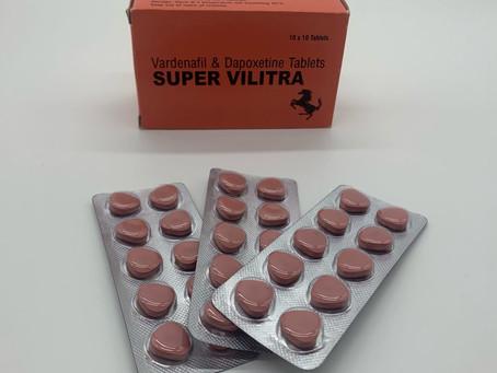 Уникальный дженерик Super Vilitra (Дапоксетин+Варденафил) для лечения эректильной дисфункции и прежд
