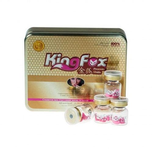 Купить Возбуждающие таблетки King Fox (0,5 гр.)
