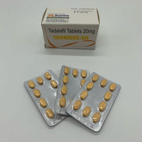 Дженерик Tadarise 20 mg (10 таблеток)
