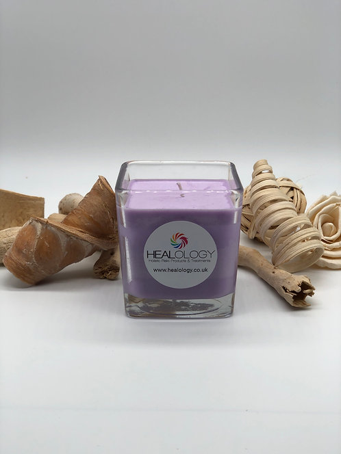 Sleep Assist Lavender Candle ( Reiki Charged )