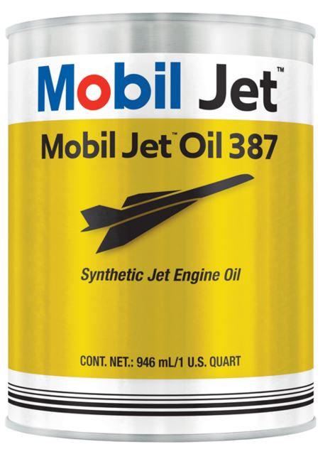 MOBIL JET OIL 387- Quart