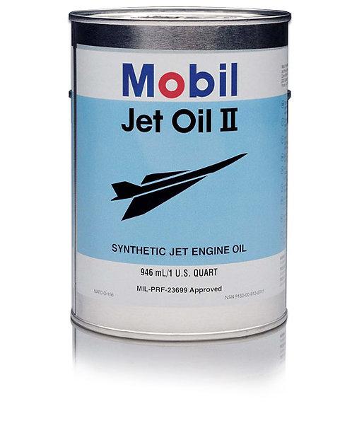 MOBIL JET OIL II - 24 Quart/Case