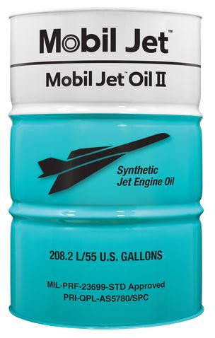 MOBIL JET OIL II - 55 Gallons