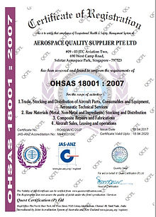 Aerospace Quality Supplier Pte Ltd