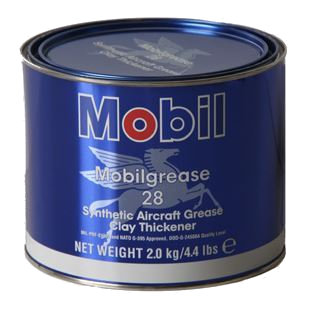 Mobil Grease 28 Red Aviation Grease - 2 Kg Can