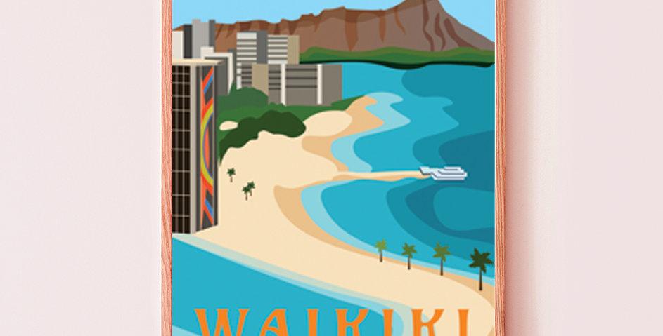 Waikiki Honolulu, Oahu