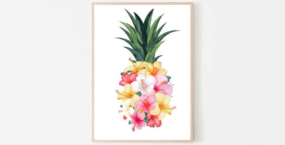 Hibiscus Pineapple