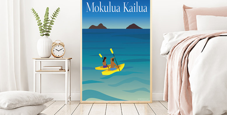 Mokulua Island Kailua, Oahu