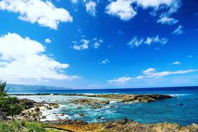 ハワイでスキンダイビングレッスン