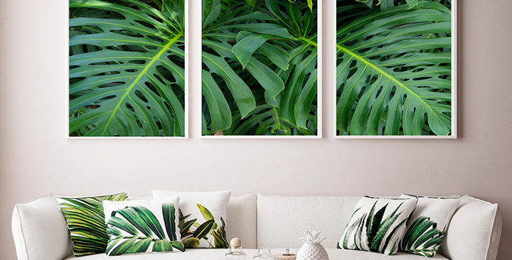"""""""Nature Vibes"""" Triptych"""