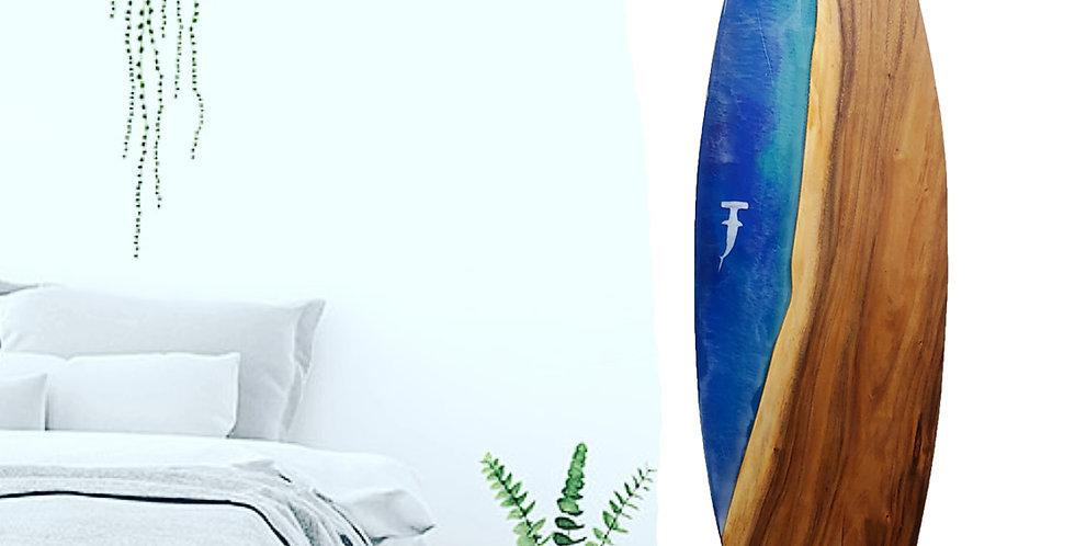 "5'6"" Oahu Monkeypod with Hammerhead Shark"