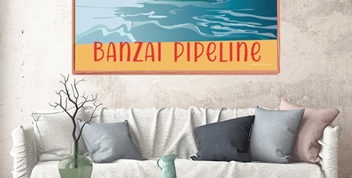 Banzai Pipeline North Shore Oahu