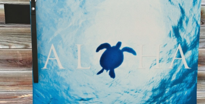 Aloha Turtle Clutch