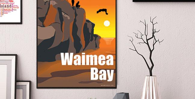 Waimea Bay Jumping Rock