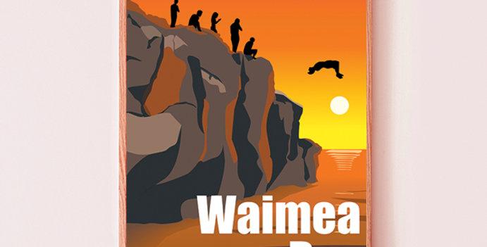 Jump Rock Waimea Bay, Oahu