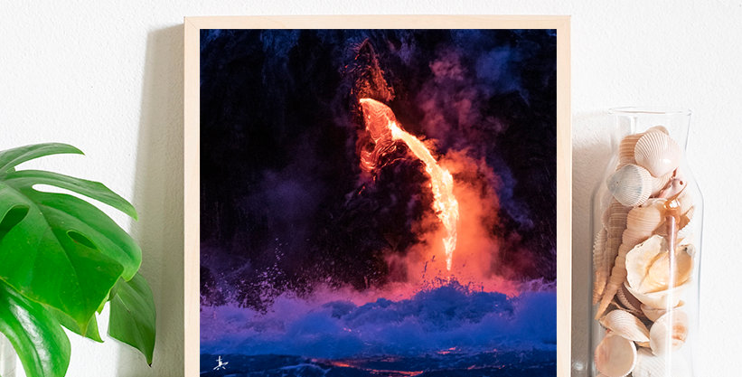 "Lava ""Pele's Tear""Photography Prints"