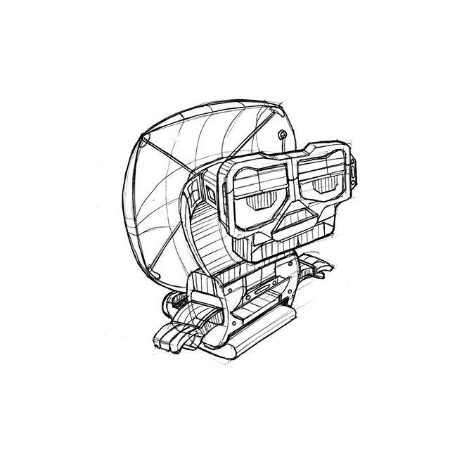 More Robotics #sketch #bic #pen #drawing
