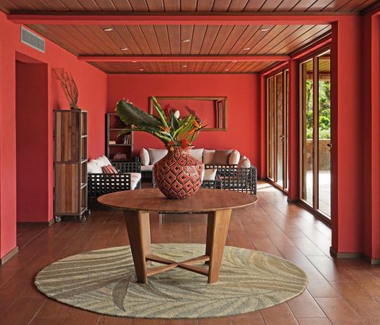 Reception lounge area