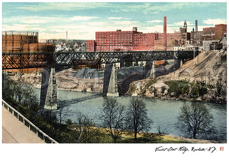 Vincent Street Bridge, Rochester, N.Y