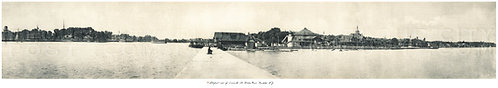 Lakefront view of Summerville and Ontario Beach, (Charlotte) Rochester, N.Y.