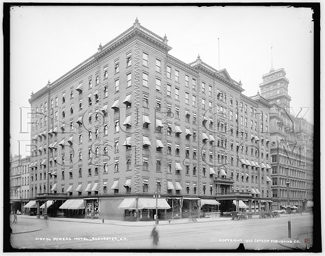 Powers Hotel, Rochester, N.Y.