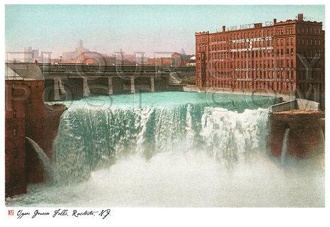 Upper Genesee (High) Falls, Rochester, N.Y