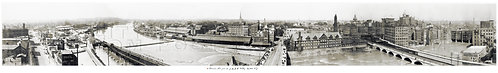 Panoramic View from the (former) Y.M.C.A. Building, Rochester, N. Y.