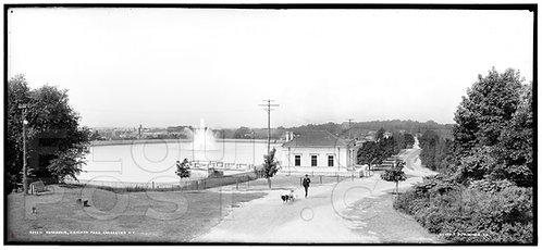 Highland Park Reservoir (extended view), Rochester, N.Y.