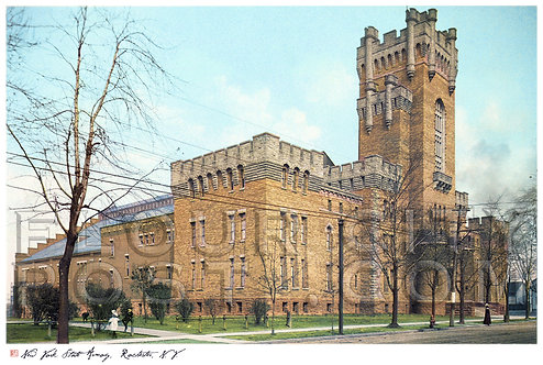 N.Y. State Armory, Rochester, N.Y. (STYLIZED)