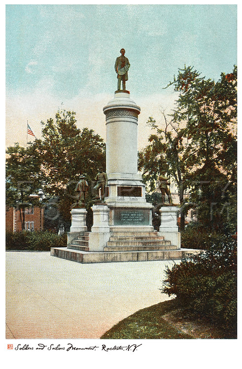 Soldiers' and Sailors' Monument, Rochester, N.Y.