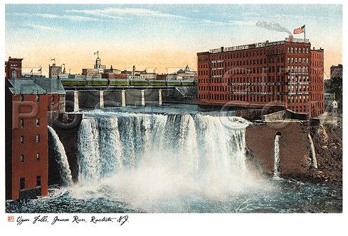 Upper Falls, Genesee River, Rochester, N.Y.
