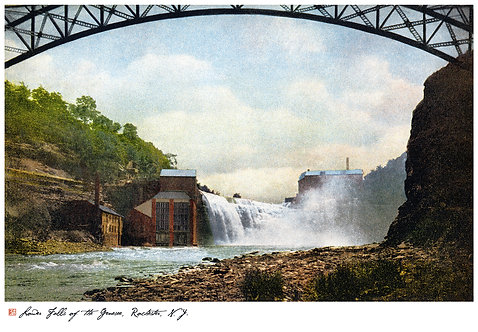 Lower Falls of the Genesee, Rochester, N.Y.