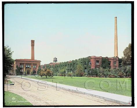 Eastman Kodak Company, Kodak Park,  Rochester, N.Y. (COLORIZED)