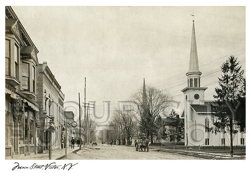 Main Street, Victor, N.Y.