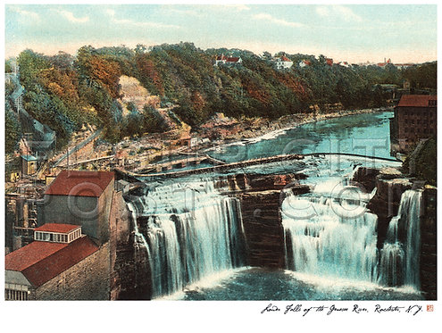Lower Falls of the Genesee River, Rochester, N.Y.