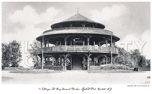 Ellwanger and Barry Memorial Pavilion, Highland Park, Rochester, N.Y.