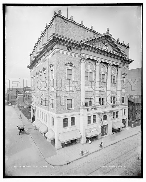 First Masonic Temple, Rochester, N.Y.