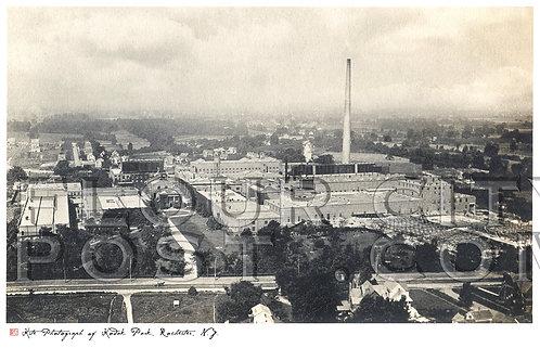 Kite Photograph of Kodak Park, Eastman Kodak Company,  Rochester, N.Y.
