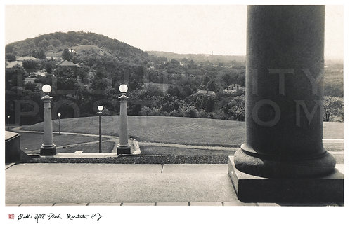 Cobb's Hill Park (looking West), Rochester, N.Y
