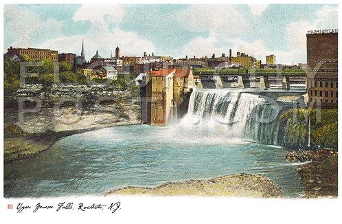 Upper Genesee (High) Falls, Rochester, N.Y.