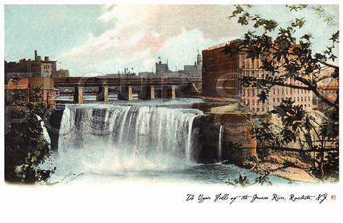 The Upper (High) Falls of the Genesee River, Rochester, N.Y