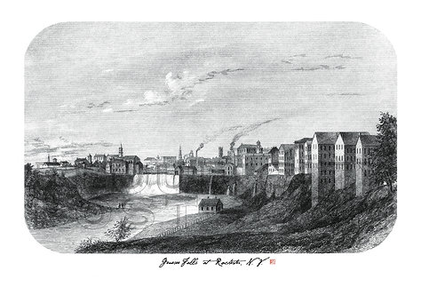 Genesee (High) Falls at Rochester, N.Y.