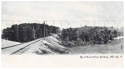 Along the Rochester & Eastern Rapid Railway, Victor, N.Y.